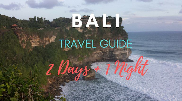Bali, Indonesia Guide  2 Days  1 Night Guided Tour  Itinerary-6333
